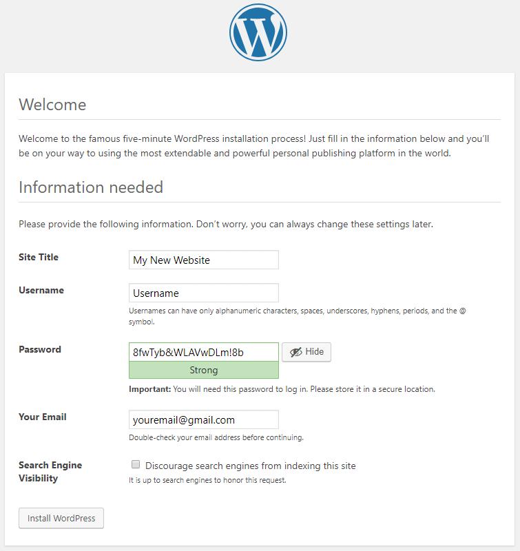 How to Install WordPress on Windows using WAMP Server » Zuziko